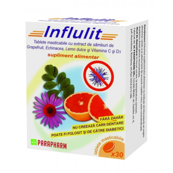 Influlit - 30 tablete